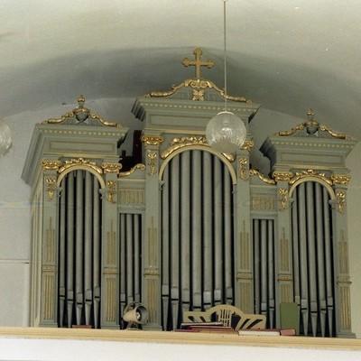 Jednomanuálový organ s pedálom I / P / 6 (5+1)