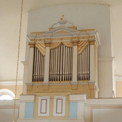 Jednomanuálový organ s pedálom I / P / 8 (6+2)